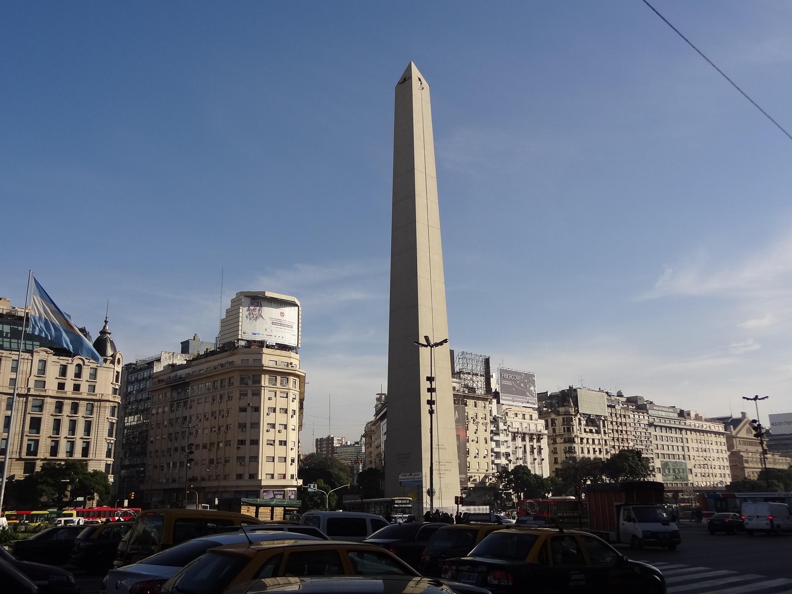 Obelisco-Buenos-Aires-Argentina-Roteiro-Turismo Buenos Aires Roteiro para 1 semana