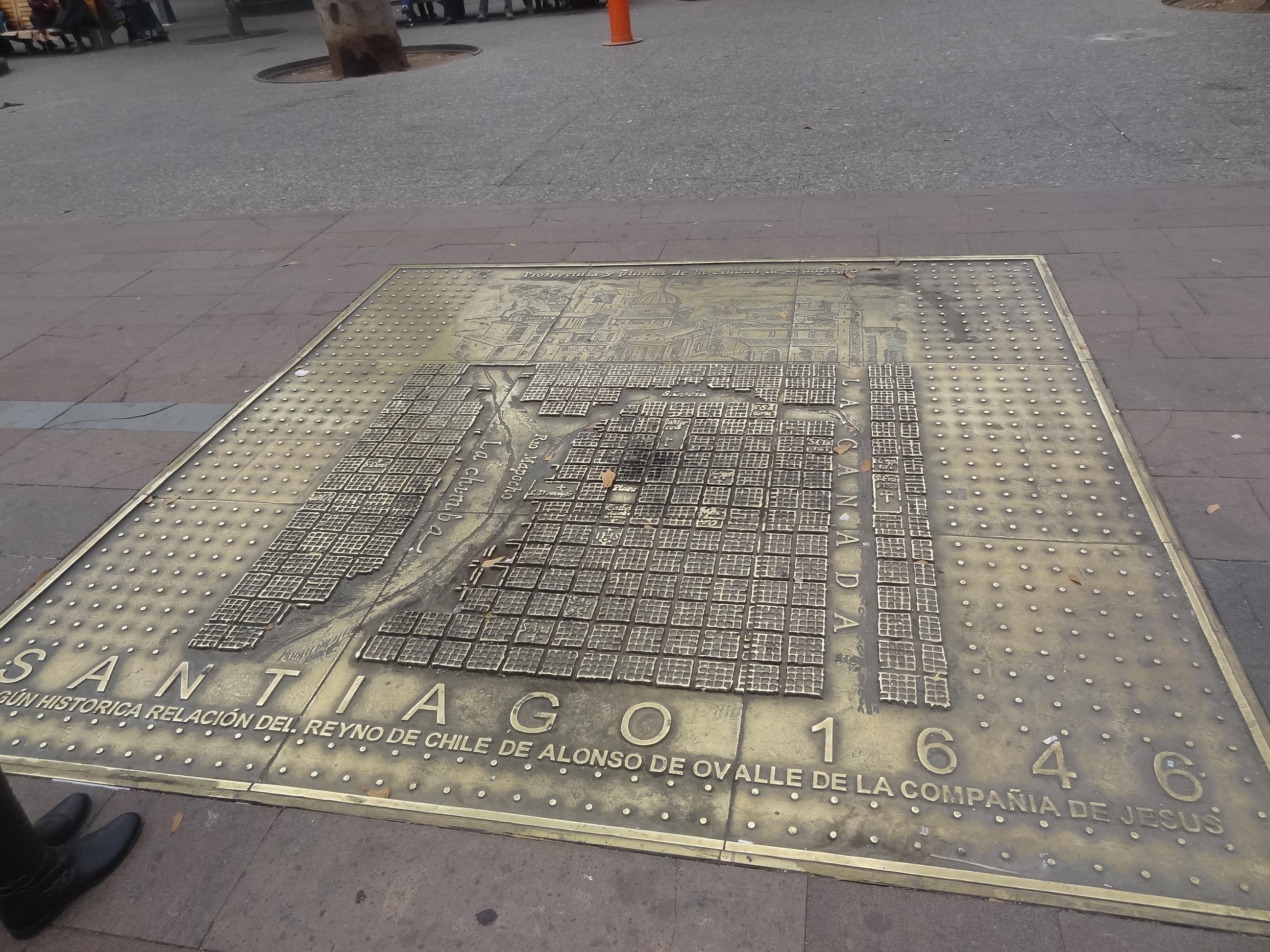 roteiro-santiago-7-a-10-dias-mapa-chile-antigo Roteiro Santiago 7 a 10 dias (Completíssimo)