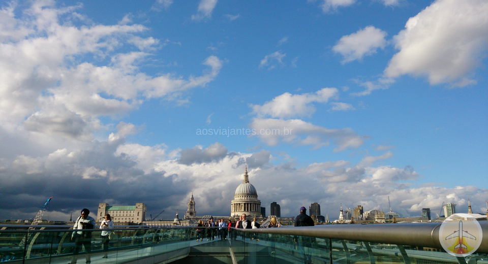 o-que-fazer-em-londres-ate-de-graca-millenium-bridge O que fazer em Londres até de graça (mais de 80 Dicas!)