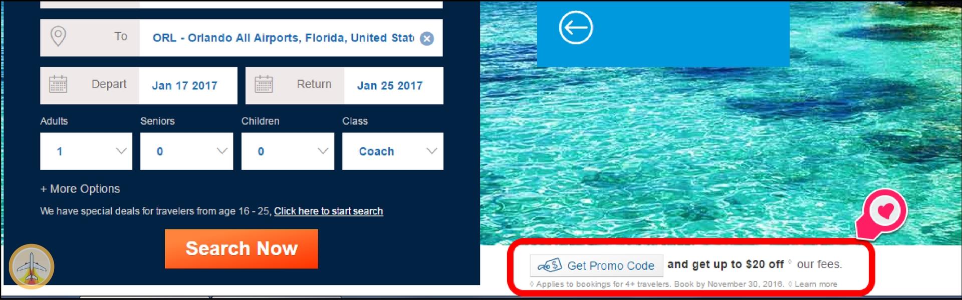 voos-baratos-de-ultima-hora-cheapoair-desconto Como comprar voos baratos em cima da hora (CheapOair)