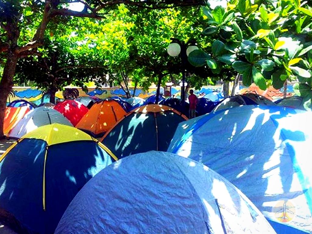Como-chegar-a-Ilha-Grande-e-onde-se-hospedar-acampamento Como chegar a Ilha Grande e onde se hospedar (em detalhes!)