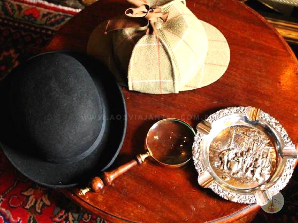 Cenários-e-Museu-de-Sherlock-Holmes-em-Londres-itens-sherlock Cenários e Museu de Sherlock Holmes em Londres