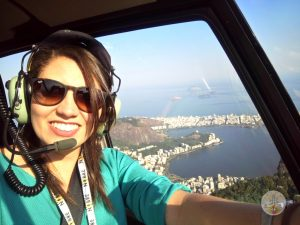 passeio de helicóptero no Rio de Janeiro aos viajantes