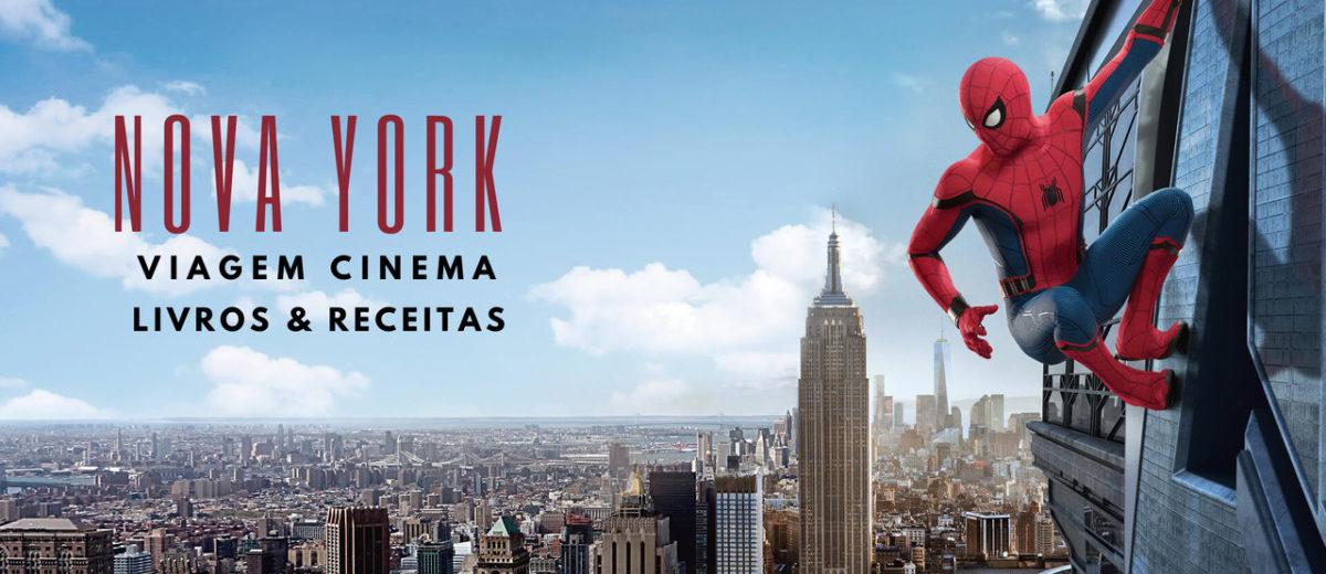 capa para nova york e homem aranha dicas pra conhecer nyc de casa