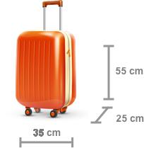 mala-de-viagem-de-bordo-tamanho Melhores malas de bordo: 5 dicas infalíveis